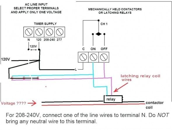 Photocell Relay Wiring Diagram - Wiring Diagrams on