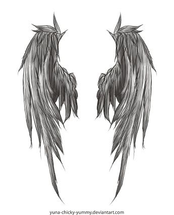 bb0a23408 torn angel wings tattoo - Google Search | Angel Wing Tattoos | Wing ...