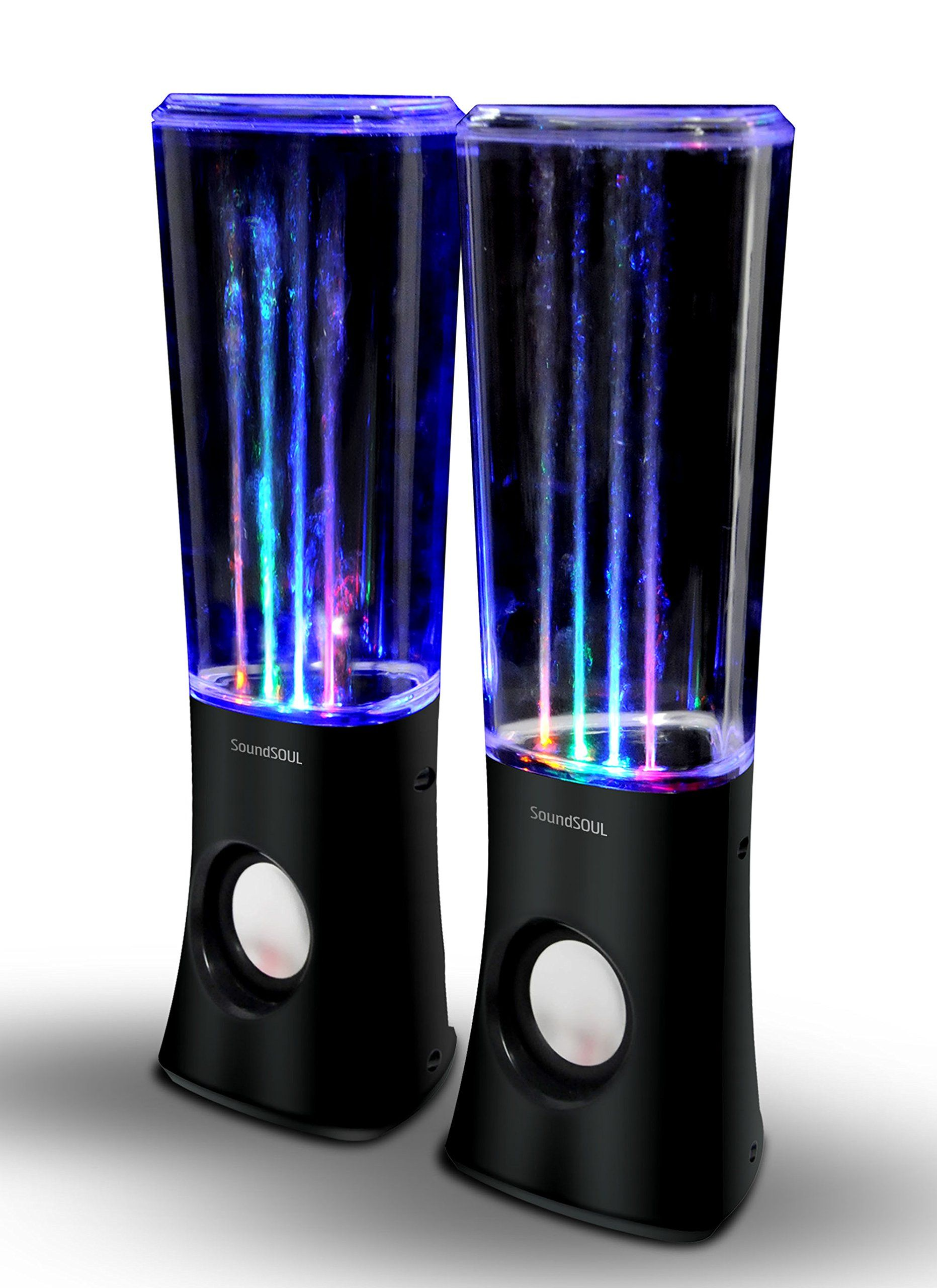 Lava Lamp Bluetooth Speaker Endearing Amazon Soundsoul Music Fountain Mini Amplifier Dancing Water Inspiration Design