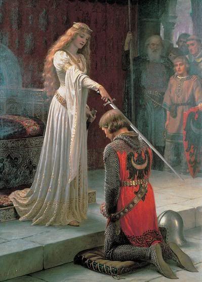 princess knighting a knight ;)