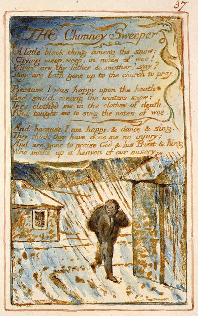 The Chimney Sweeper By William Blake William Blake The