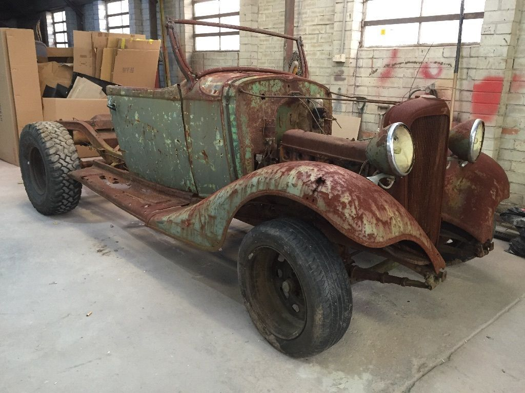 1933 Chevrolet Roadster Ute Project Chevy Pickups Roadsters