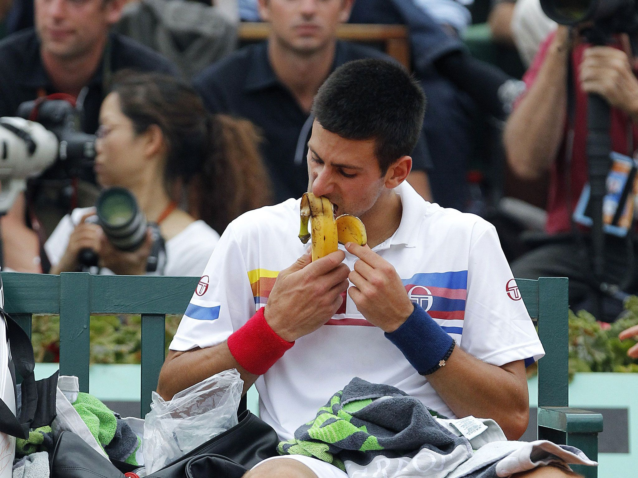 Revealed: The diet that saved Novak Djokovic