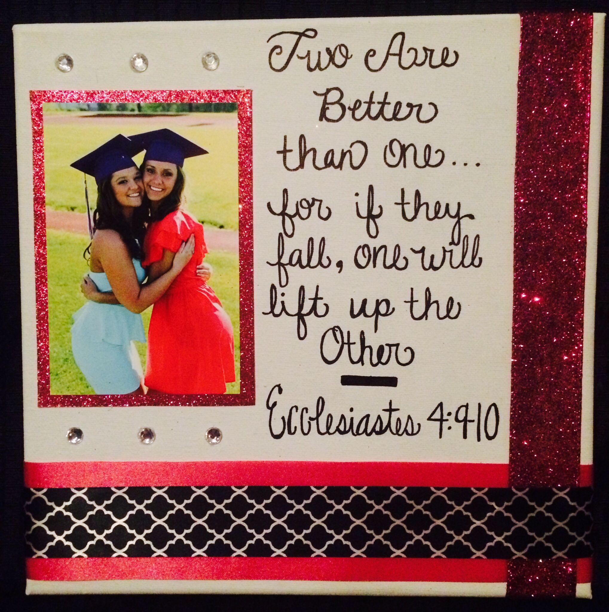 Bestfriend College Go Away Gift Birthday Diy Gifts Bestfriend Diy Birthday Gifts Graduation Gifts