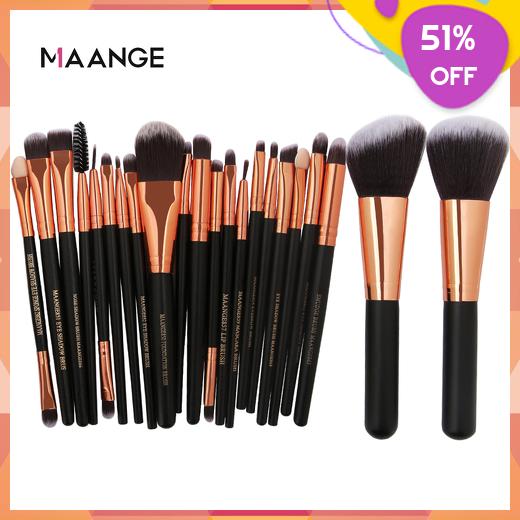MAANGE MakeupBrushesSet Blush CosmeticFoundationPowder