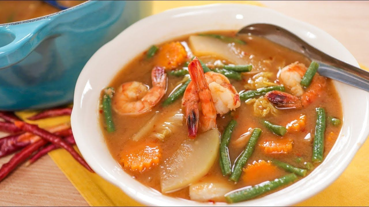 Gaeng Som - Sour Curry แกงส้ม Hot Thai Kitchen! | Thai Recipes ...