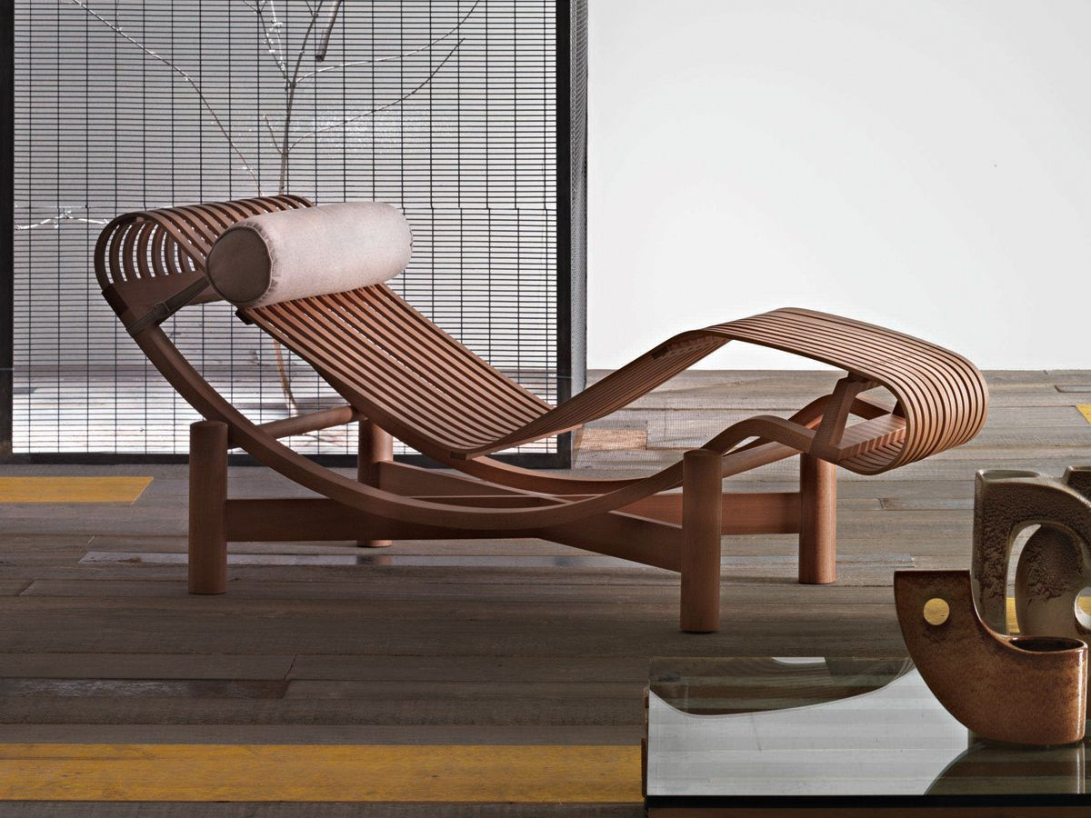 Cassina Tokyo Outdoor Chaise Longue | Chaise lounges, Spa design ...