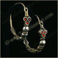 Tribe Nawaar Traditional Tribal Earrings Collectors Series Tribal Earrings Bohemian Gypsy Chic Ethnic