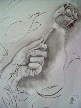 Dibujos De Amor A Lapiz Bonitos Rosa Dibujos De Amor Dibujos A