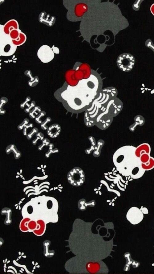 Halloween skeletons HK Wallpaper