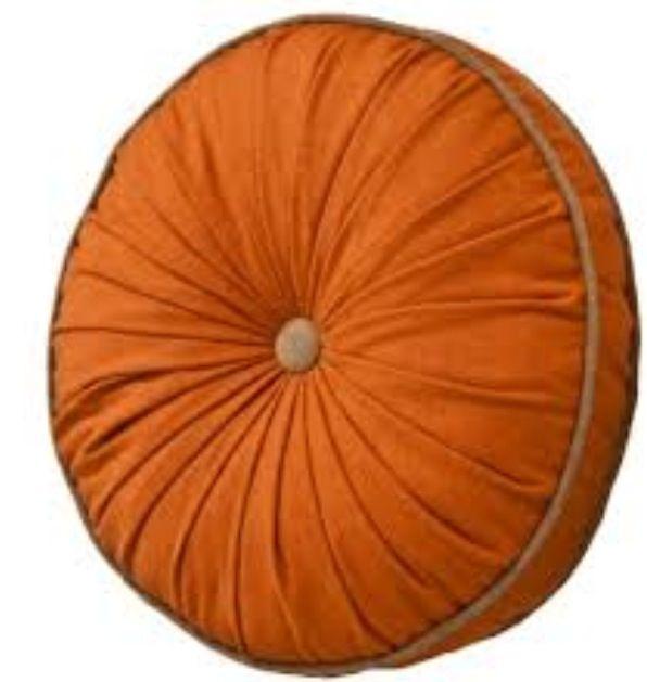 Target- Threshold Upstate Round Pillow in Rust $24.99