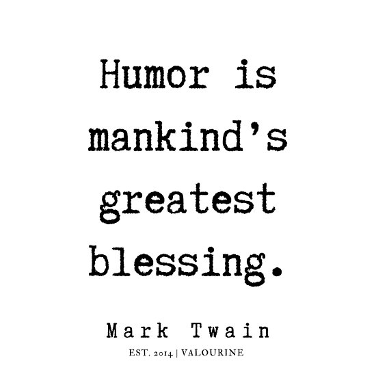 '29 | Mark Twain Quotes | 190730' Poster by QuotesGalore