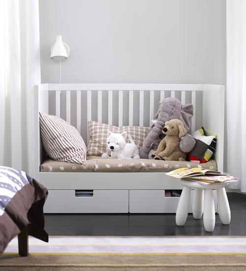 STUVA babybed   Deze pin repinnen wij om jullie te inspireren! #IKEArepint