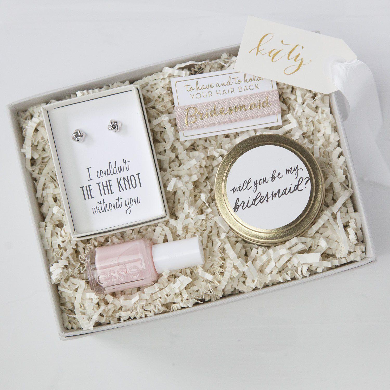 Be My Bridesmaid Petite Gift Box Bridesmaid gift boxes