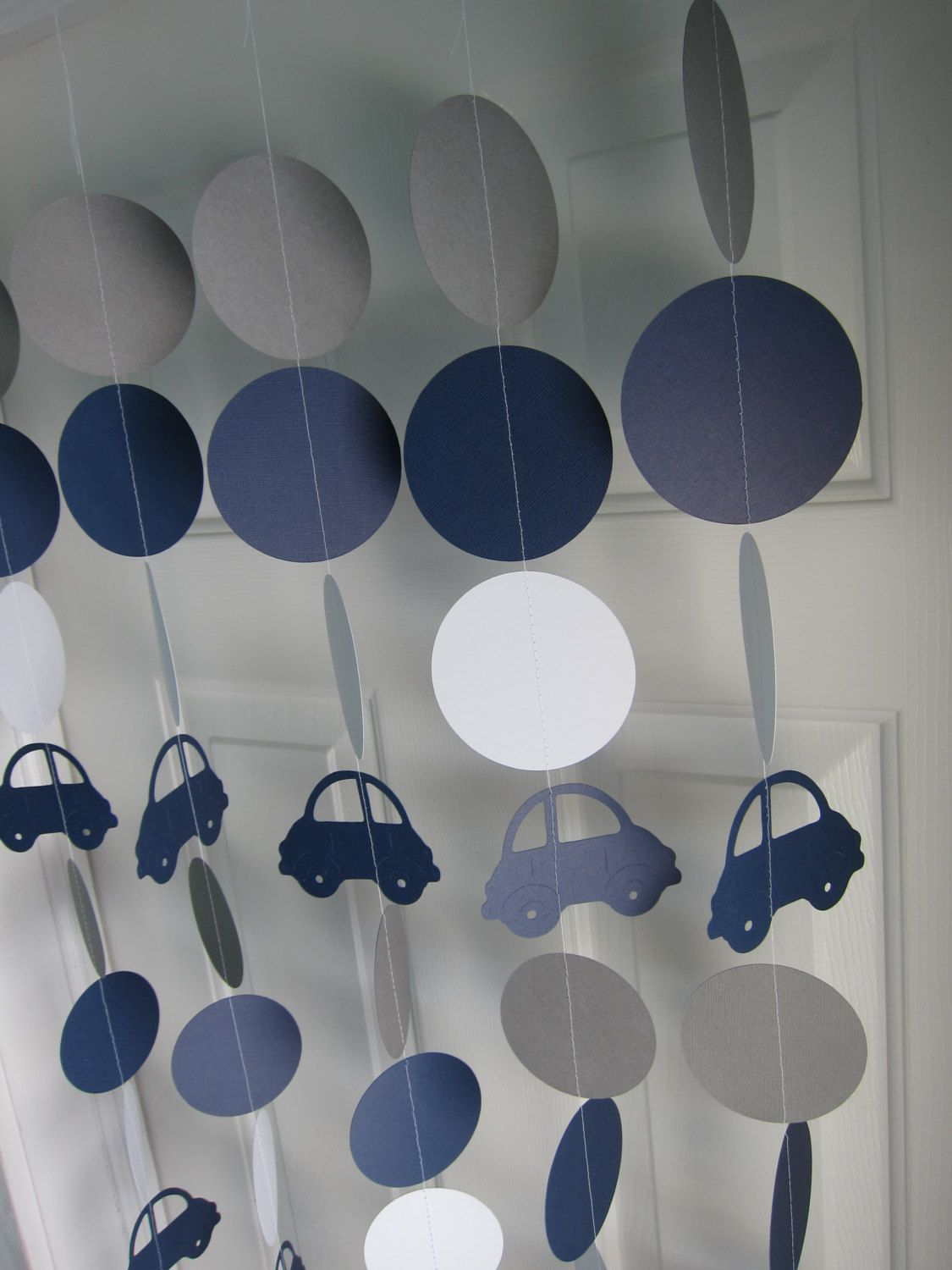 Car Paper Garlands Cartoon Car Garlands Car Themed