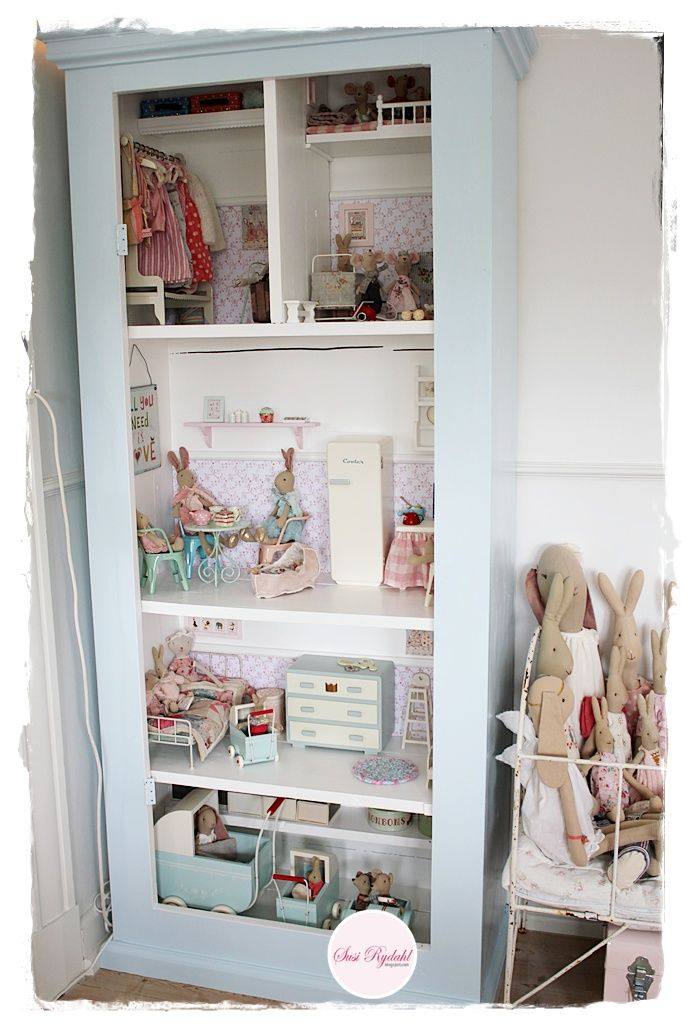 022c619c799 Maileg dollhouse | Doll houses | Kids bedroom, Diy dollhouse, Maileg ...