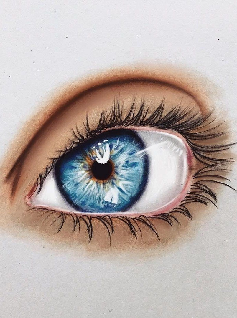 36 Awesome Eye Drawing Images ! How to draw a realistic eye! Part 10