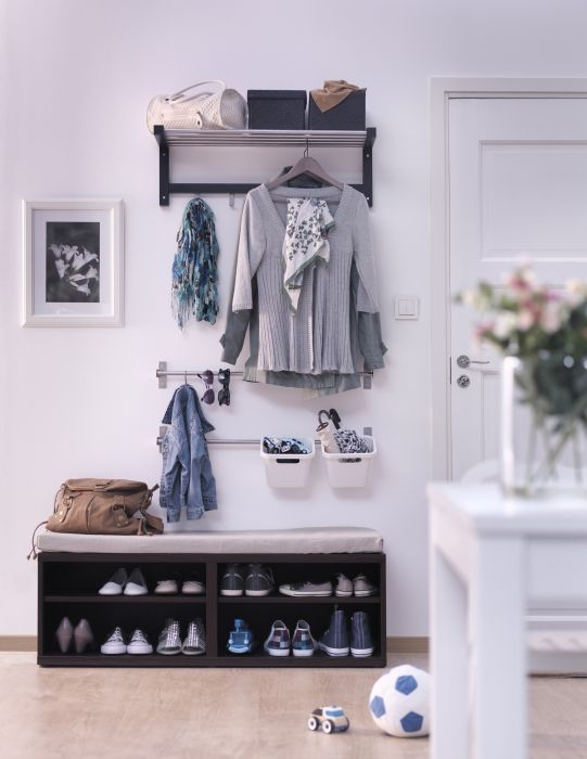 Besta Ikea Unit Shoe Rack   Home Decorating Trends   Homedit