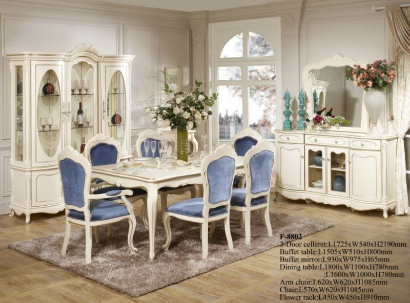 Antique Replica French Style Dining Room Furni 35562 | Buyadaptil.co