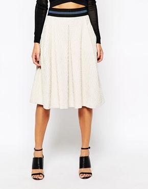 Y.A.S Beamy Midi Skirt