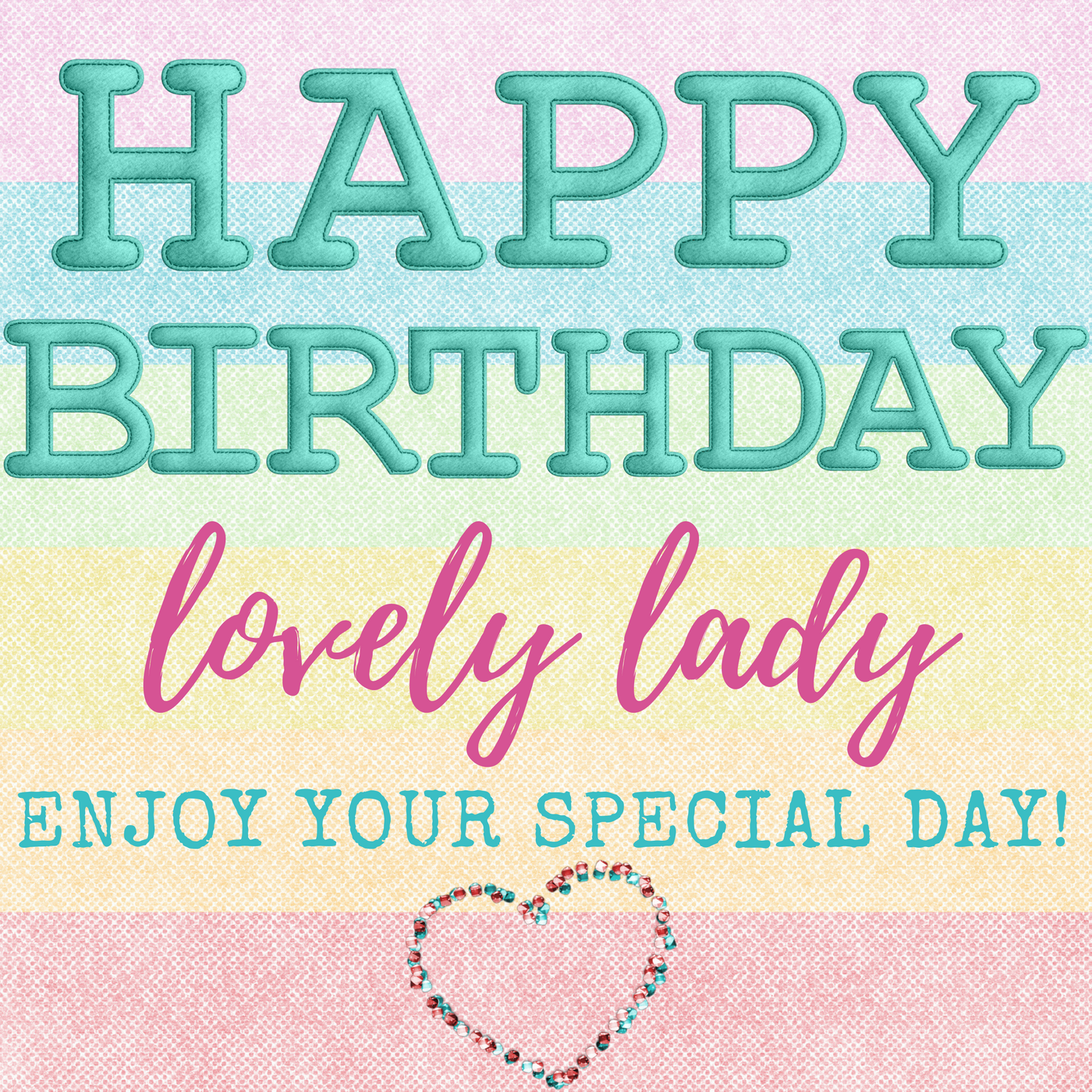 Happy Birthday Beautiful Lady Images