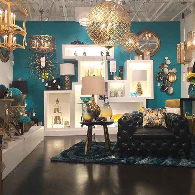 Incroyable Cyan Design Home #trend #lighting #chandelier #gold #retro #60s #