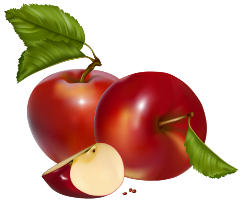 Red Apples PNG Clipart Imagens
