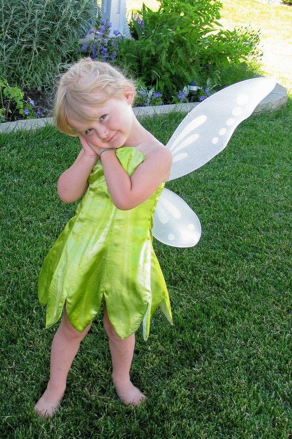 sample sale girls size 2t tinkerbell costume via etsy
