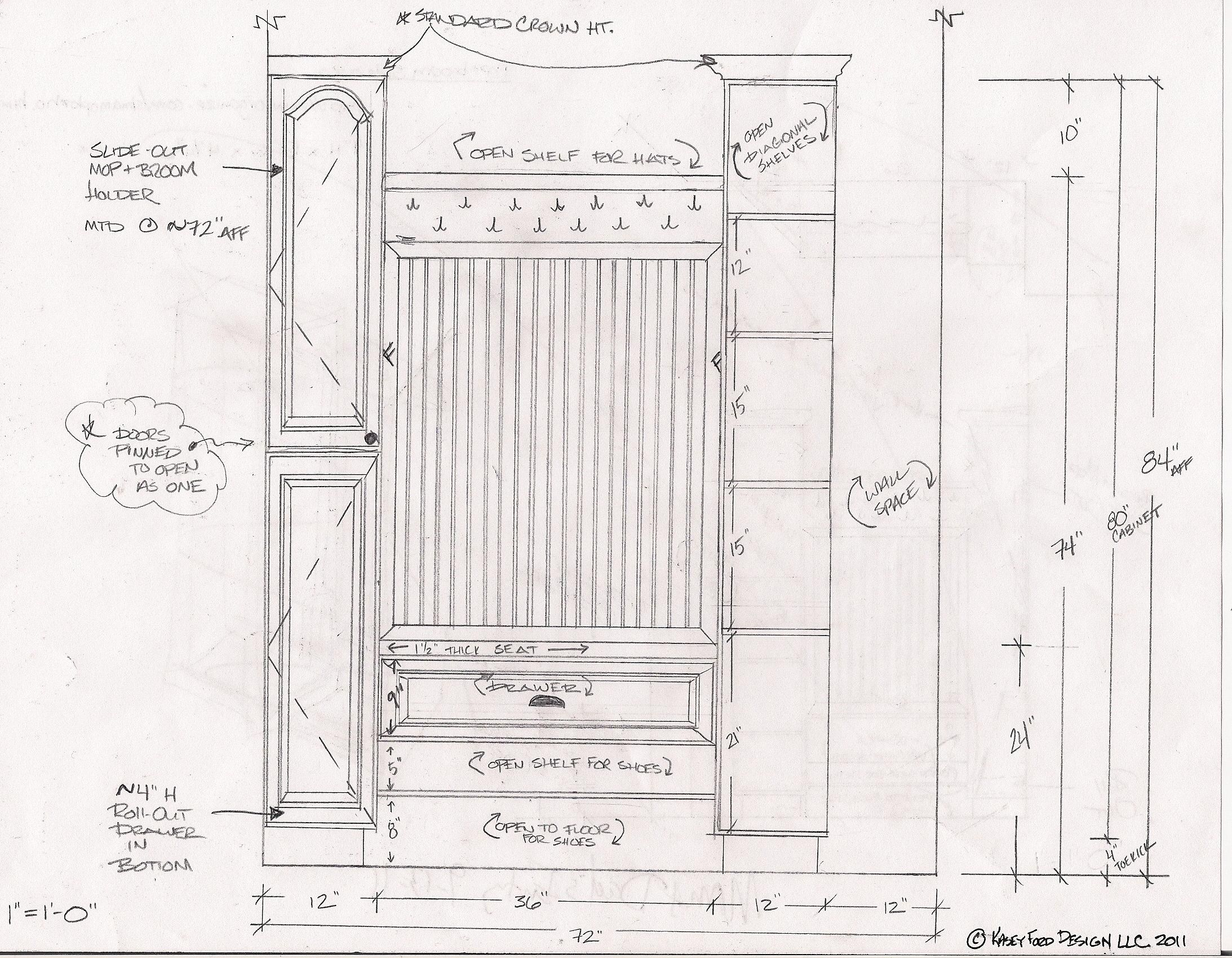 Closet Design For Extraordinary Walk In Closet Depth Minimum Closet Designs Kitchen And Bath Design Entryway Closet