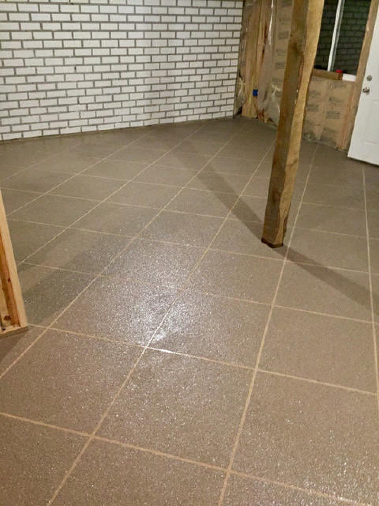 Luxury Installing Tile In Basement