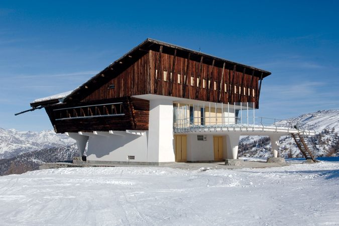 Carlo Mollino Slittovia Lago Nero Sauze D Oulx Architecture House Styles Modern