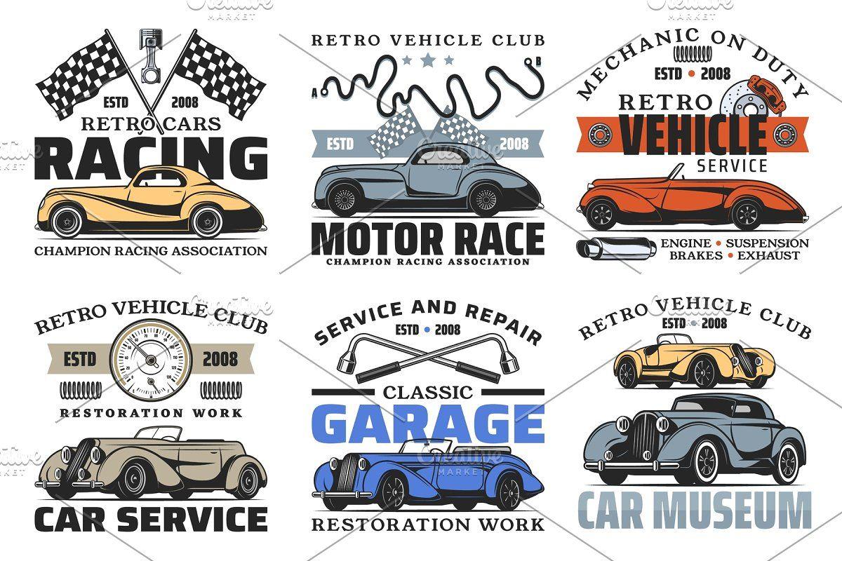 Retro Cars Spare Parts Car Badges Car Spare Parts Car Repair Service