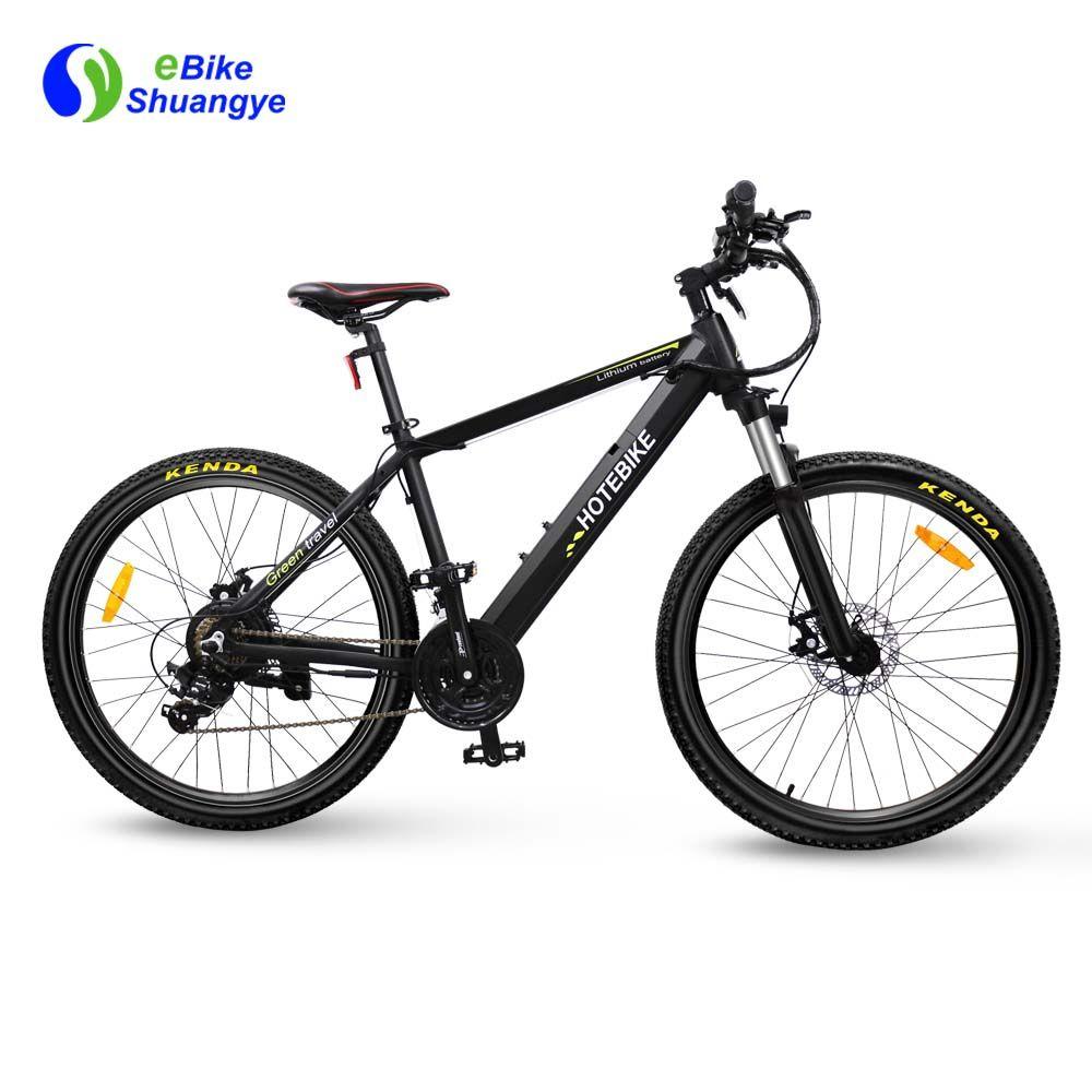 Shuangye 350w Mountain Electric Bike A6ah26 Look Like A Normal