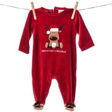 Baby S 1st Christmas Reindeer Romper Http Shop Crackerbarrel Com