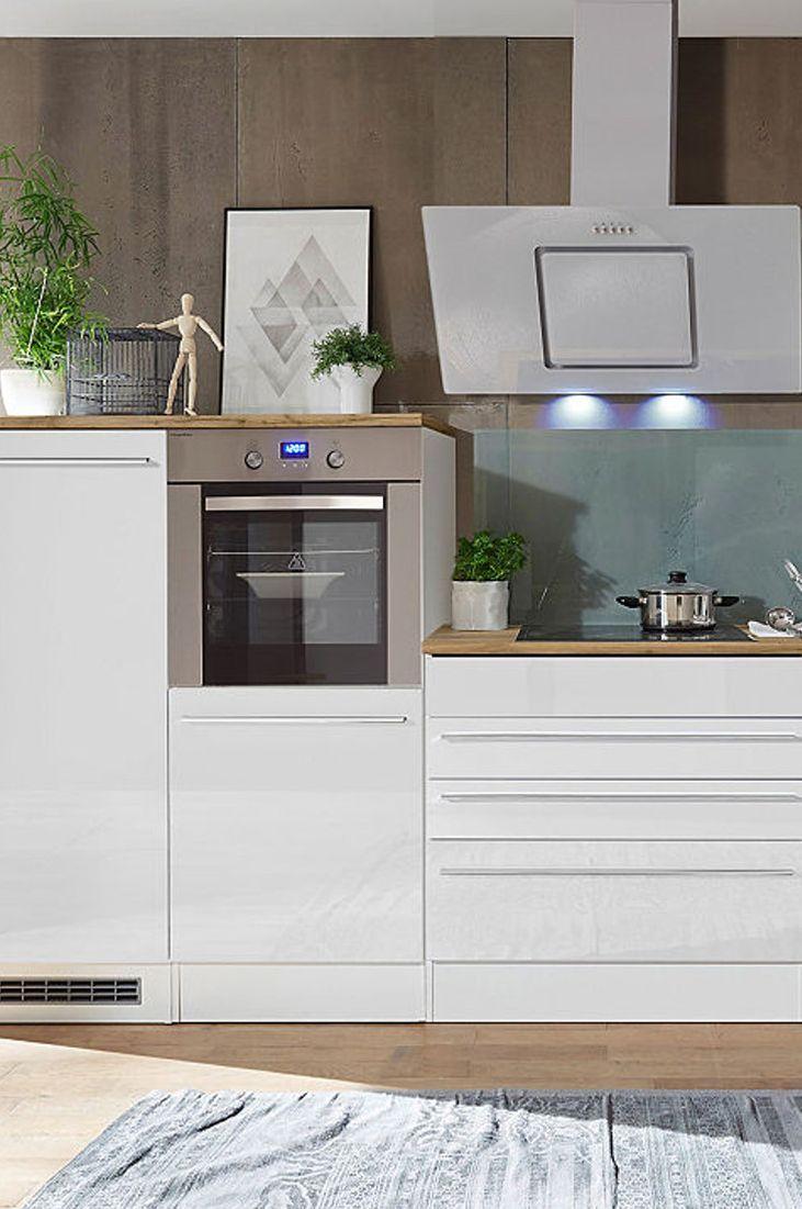 Attraktiv Küchenzeile Mit Geräten Foto Von Respekta Küchenzeile E-geräten »torinÂ«, Gesamtbreite 320 Cm