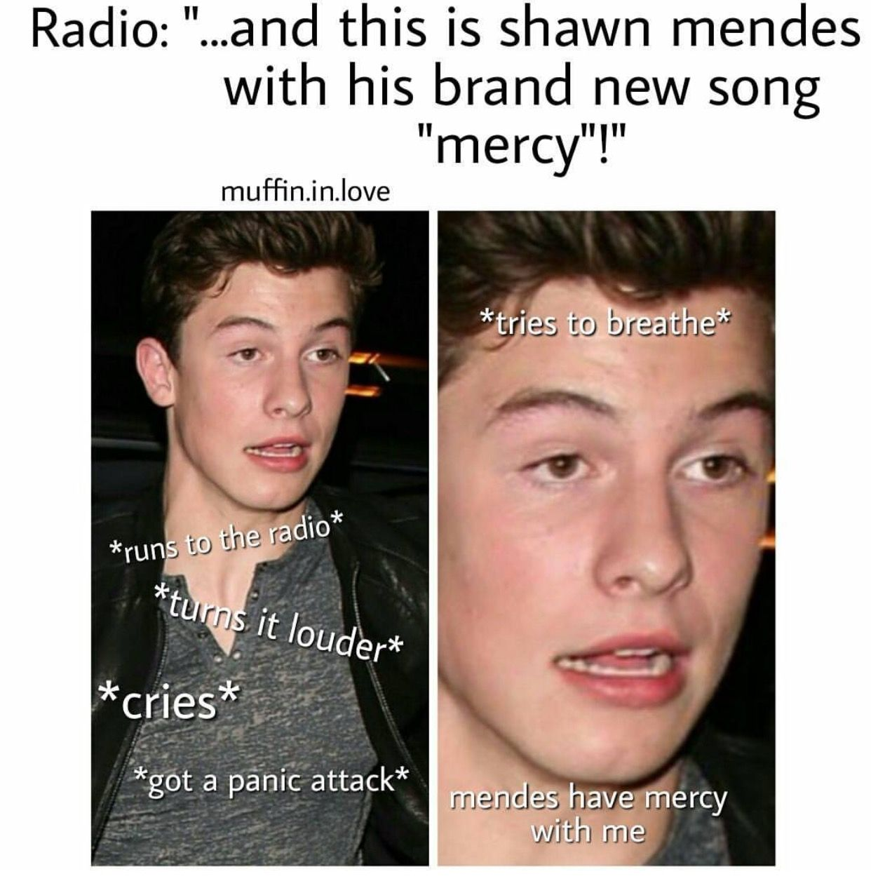 Photo of Same Shawn's face describes that felling freaking perfectly #LifeOfAFangirl