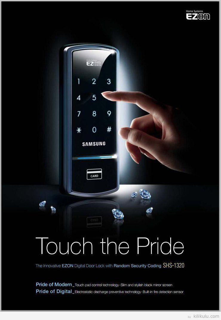 Amazon Samsung Digital Door Lock Shs 1321 Security Ezon Keyless