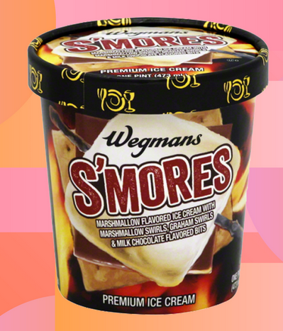 Wegman S S Mores Premium Ice Cream Food Wegmans Premium Ice Cream