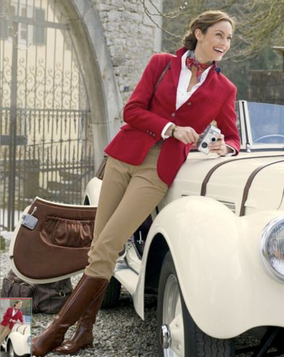 Intelligent smart casual woman fashion