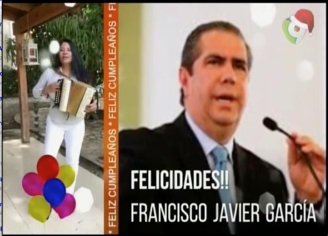 Pégate Y Gana Con El Pachá Celebra El Cumpleaño Del Ministro Francisco Javier García