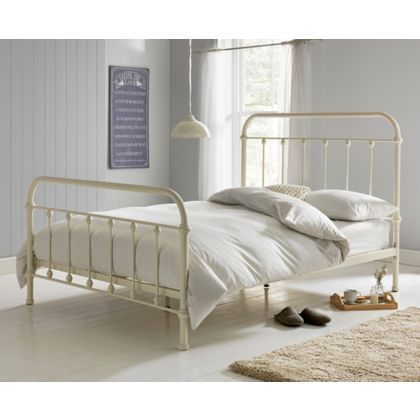 Betsy Victorian Hospital Style Double Bed Frame At