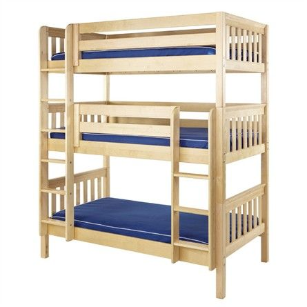 The Riley Slatted Medium Bunk Bed Is A Fun And Functional Bunk Bed