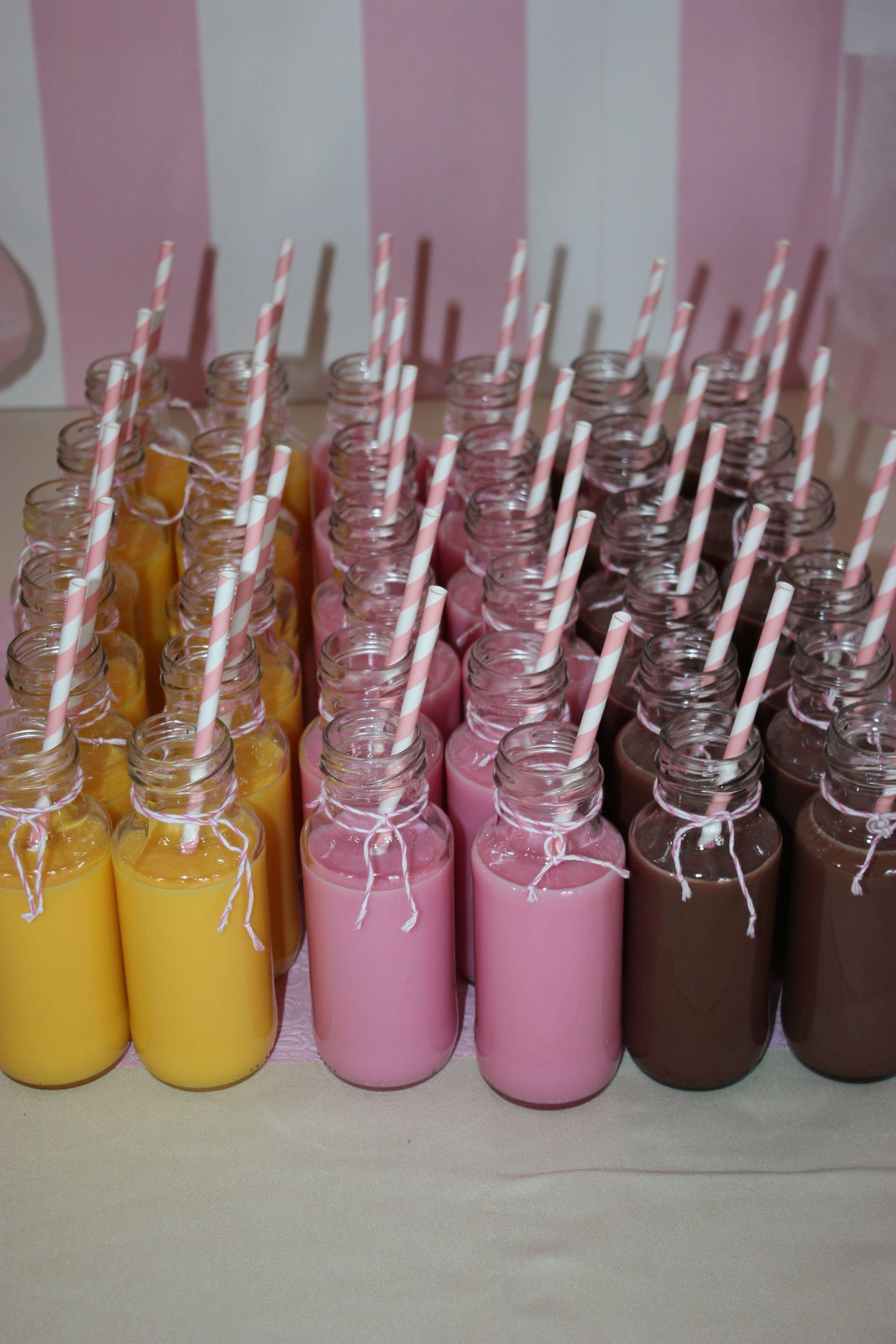 Batidos. Candy Bar #bodas #comuniones