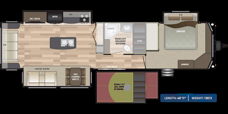 Residence Destination Trailer Floorplans Keystone Rv Floor Plans Bathroom Construction Residences