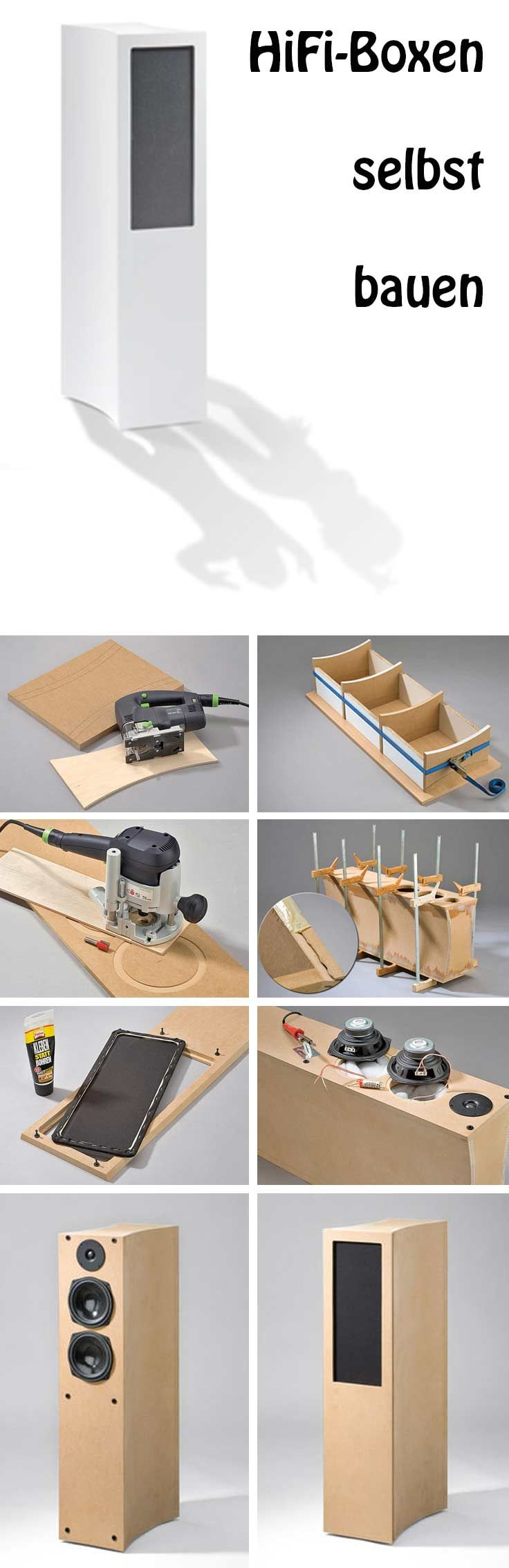 mit hilfe unserer bauanleitung kann man hifi boxen selbst. Black Bedroom Furniture Sets. Home Design Ideas