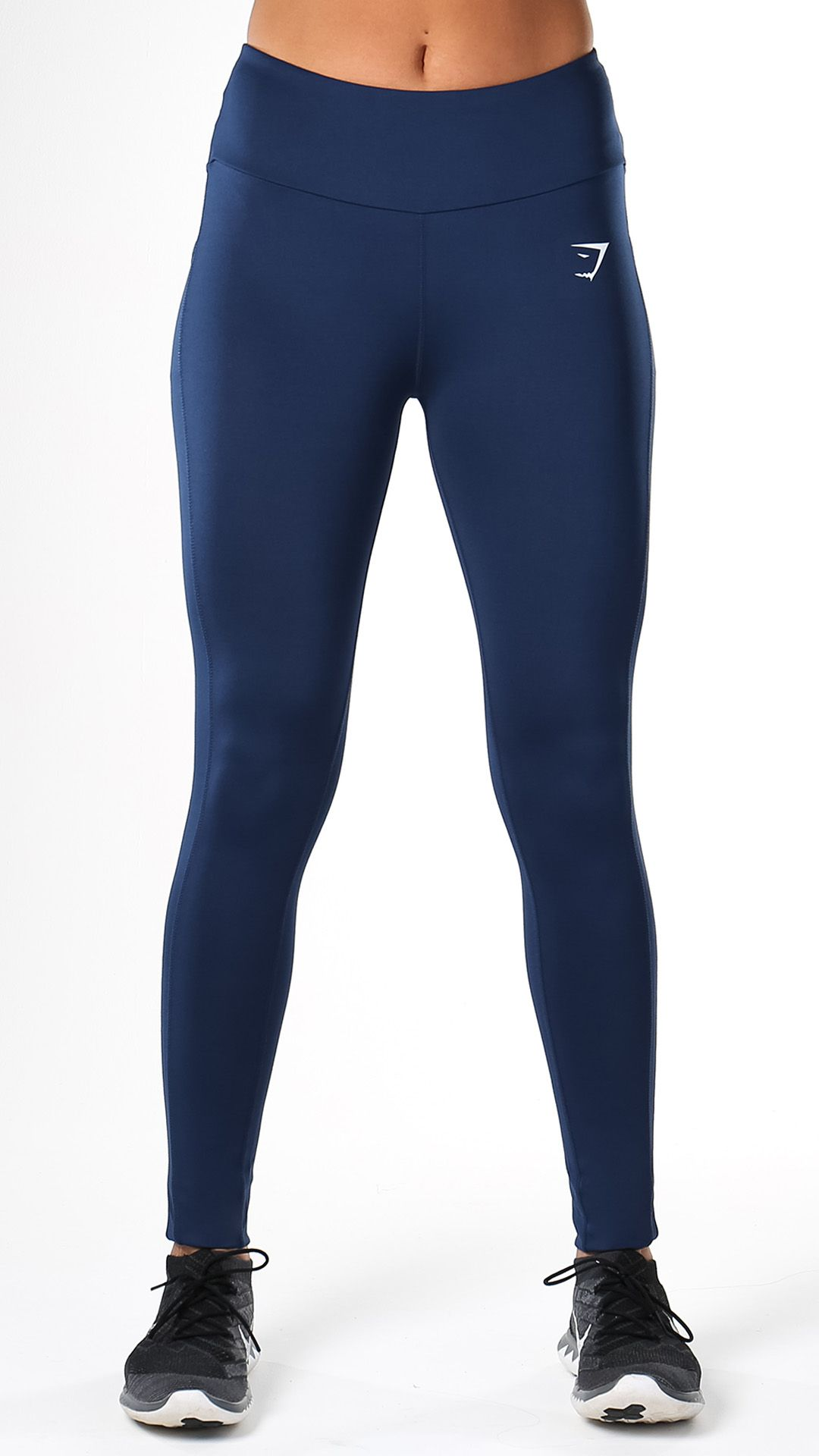 d5da32d7f7160 A high-waisted and flexible exercise leggings, with Gymshark DRY technology  for a cool, comfortable workout. Sculpture gym leggings in Sapphire Blue  launch ...