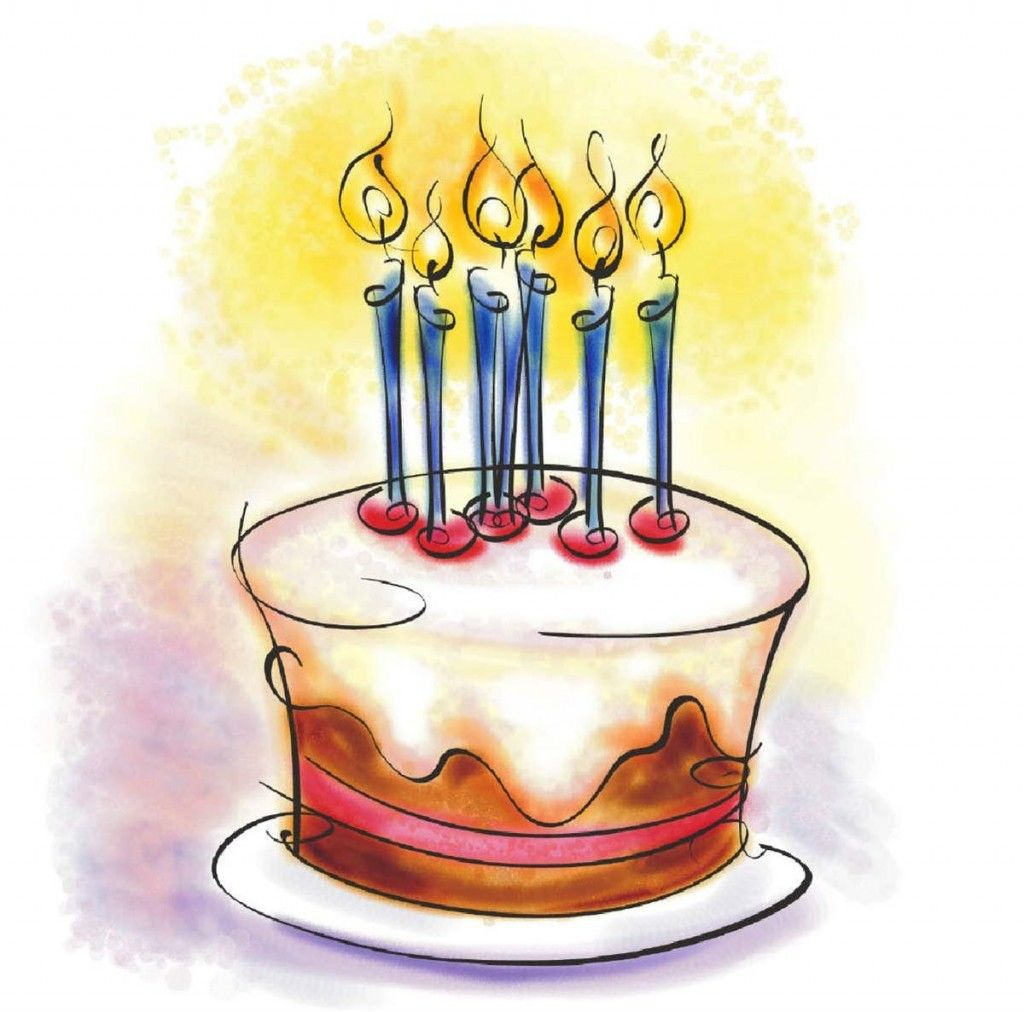 birthday paintings Huge Birthday Cake Clip Art birthdays