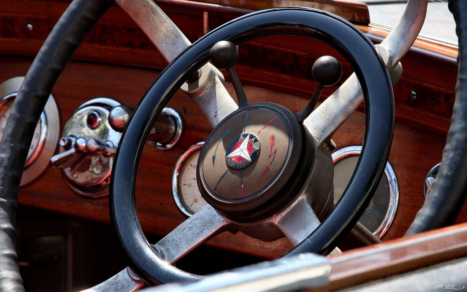 1927 - Mercedes-Benz 630 K-SS - Stearing Wheel