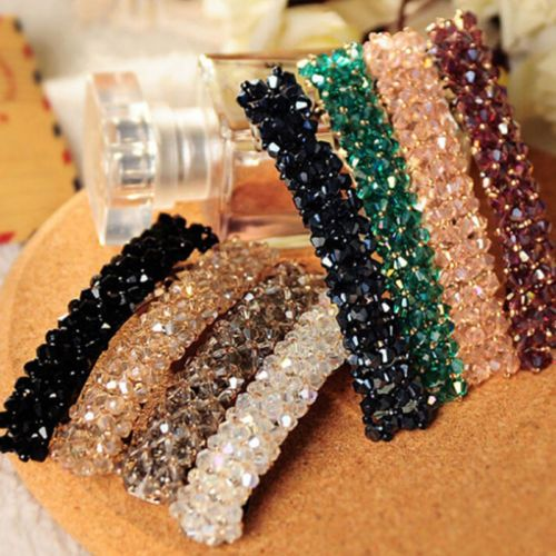 Accessories Crystal Rhinestone Hair Hair Clip Barrette Hairpin HeadWear