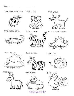 Ausmalbild Tiere 2 Arbeitsblatter Zum Ausdrucken Arbeitsblatter Ausmalbilder Tiere
